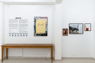 Momentum at Minimum curated by Diane Smyth & Salvatore Vitale for Der Greif, Palermo - Italy